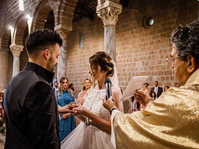 Il matrimonio di Federica e Simone a Castel Sant'Elia, Viterbo 40