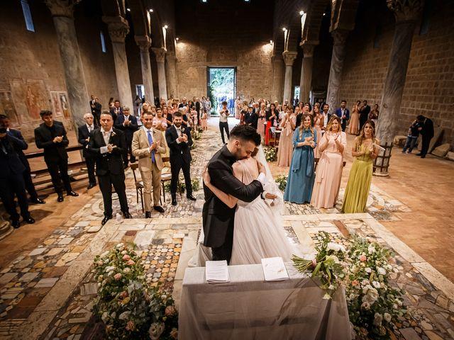 Il matrimonio di Federica e Simone a Castel Sant'Elia, Viterbo 41
