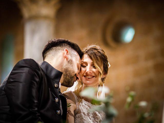 Il matrimonio di Federica e Simone a Castel Sant'Elia, Viterbo 43