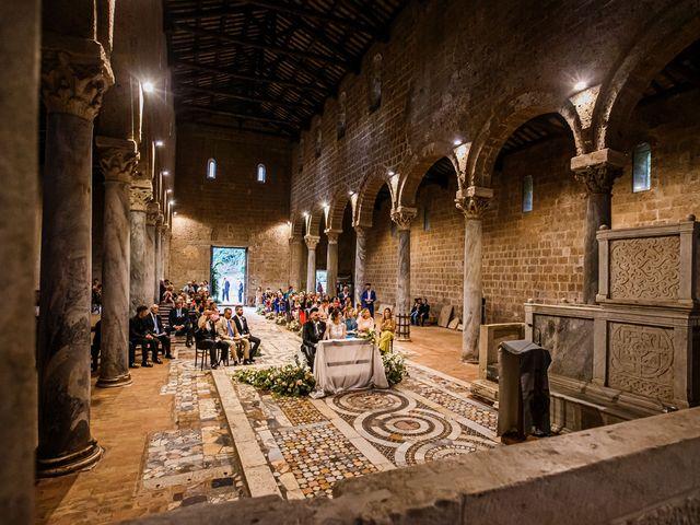 Il matrimonio di Federica e Simone a Castel Sant'Elia, Viterbo 44