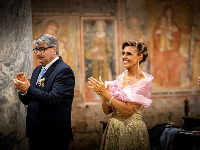 Il matrimonio di Federica e Simone a Castel Sant'Elia, Viterbo 45