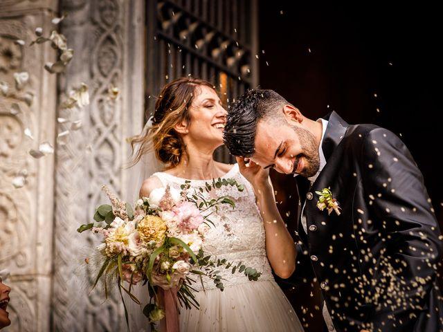 Il matrimonio di Federica e Simone a Castel Sant'Elia, Viterbo 48