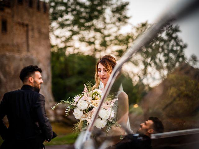 Il matrimonio di Federica e Simone a Castel Sant'Elia, Viterbo 53