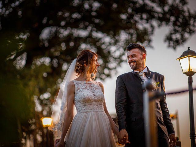 Il matrimonio di Federica e Simone a Castel Sant'Elia, Viterbo 56