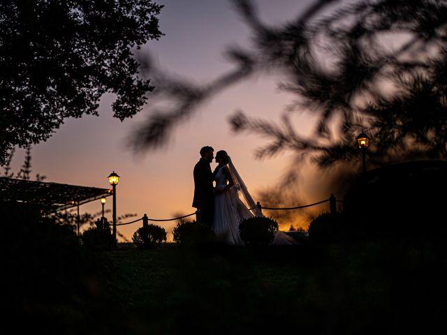 Il matrimonio di Federica e Simone a Castel Sant'Elia, Viterbo 57