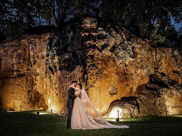 Il matrimonio di Federica e Simone a Castel Sant'Elia, Viterbo 59