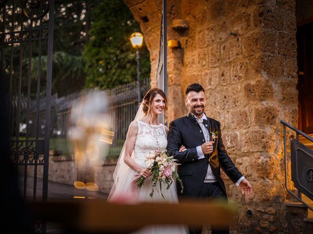 Il matrimonio di Federica e Simone a Castel Sant'Elia, Viterbo 60