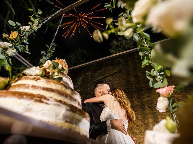 Il matrimonio di Federica e Simone a Castel Sant'Elia, Viterbo 69