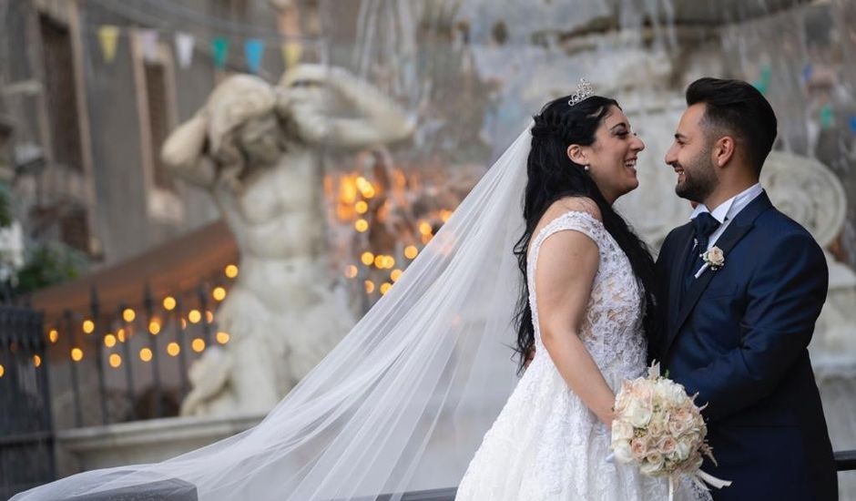 Il matrimonio di Damiano e Vanessa a Catania, Catania