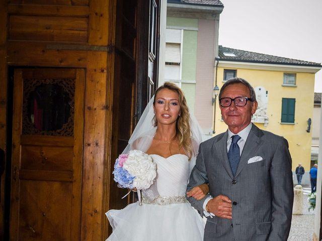 Il matrimonio di David e Veronica a San Secondo Parmense, Parma 25