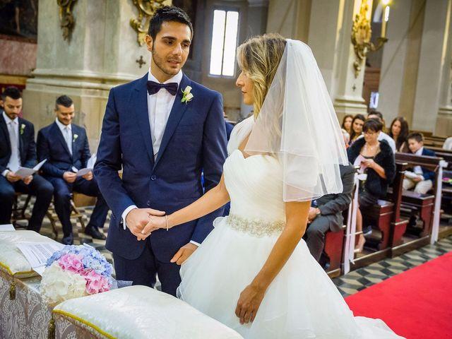 Il matrimonio di David e Veronica a San Secondo Parmense, Parma 38