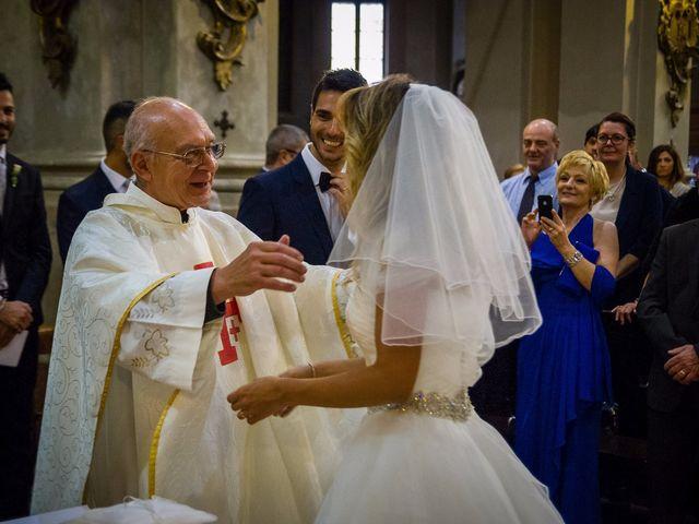 Il matrimonio di David e Veronica a San Secondo Parmense, Parma 47