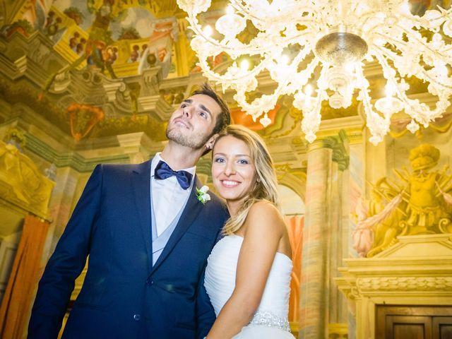 Il matrimonio di David e Veronica a San Secondo Parmense, Parma 80