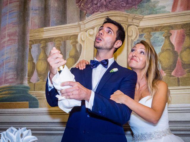Il matrimonio di David e Veronica a San Secondo Parmense, Parma 88