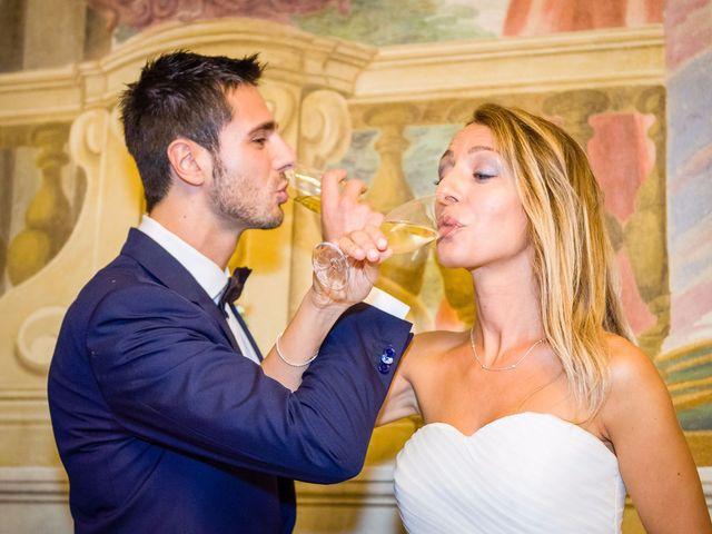 Il matrimonio di David e Veronica a San Secondo Parmense, Parma 89