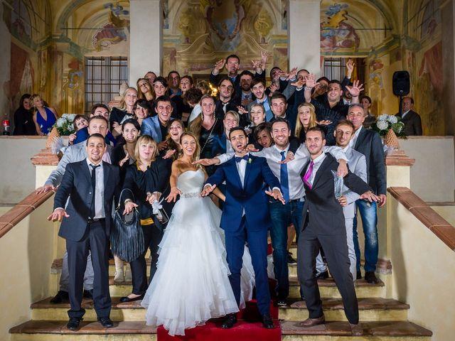 Il matrimonio di David e Veronica a San Secondo Parmense, Parma 92