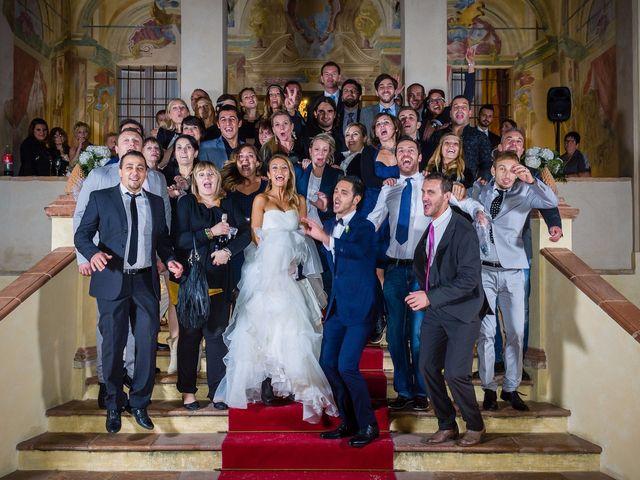Il matrimonio di David e Veronica a San Secondo Parmense, Parma 93