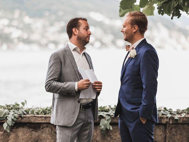Il matrimonio di Kasper e Jacqui a Baveno, Verbania 39