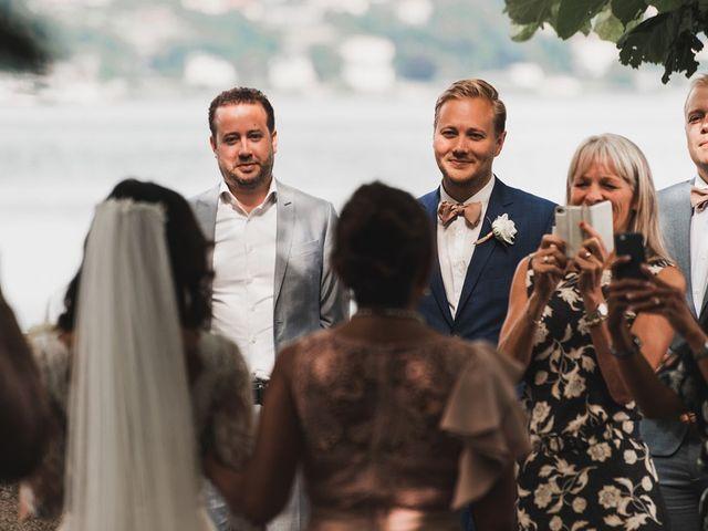 Il matrimonio di Kasper e Jacqui a Baveno, Verbania 43