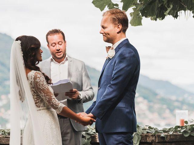 Il matrimonio di Kasper e Jacqui a Baveno, Verbania 46