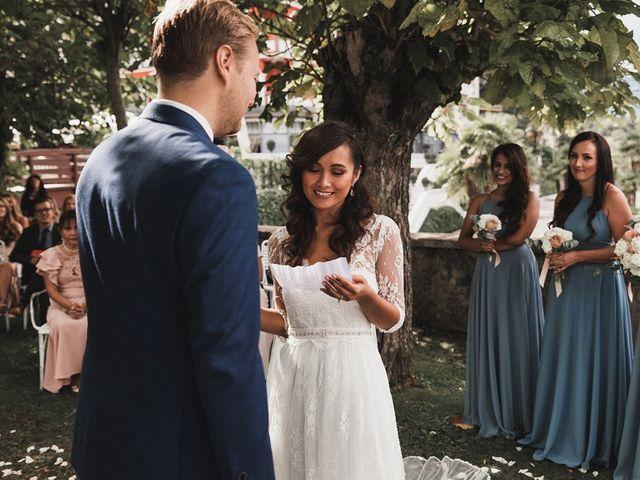 Il matrimonio di Kasper e Jacqui a Baveno, Verbania 50