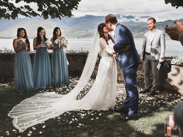 Il matrimonio di Kasper e Jacqui a Baveno, Verbania 54