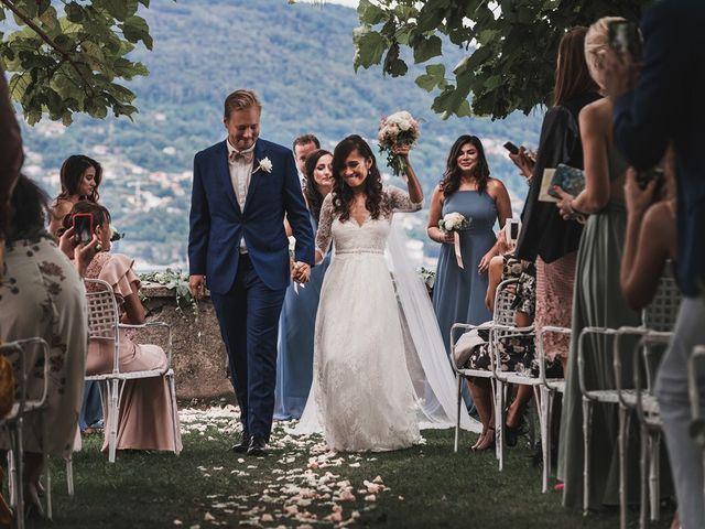 Il matrimonio di Kasper e Jacqui a Baveno, Verbania 58