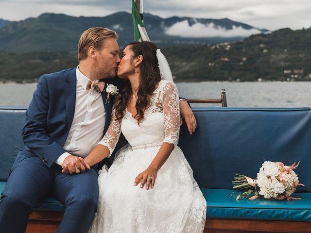 Il matrimonio di Kasper e Jacqui a Baveno, Verbania 63