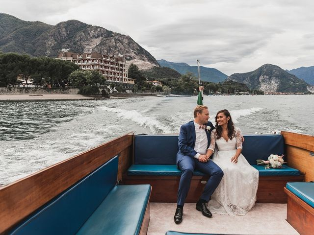Il matrimonio di Kasper e Jacqui a Baveno, Verbania 64