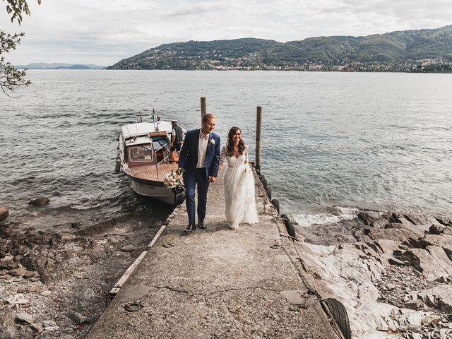 Il matrimonio di Kasper e Jacqui a Baveno, Verbania 65