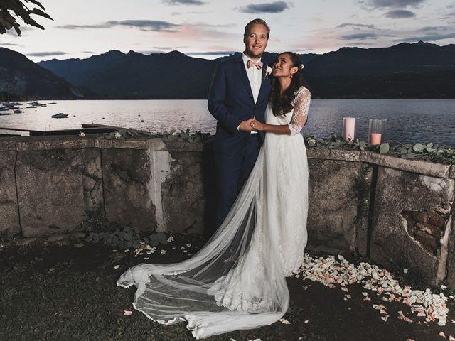 Il matrimonio di Kasper e Jacqui a Baveno, Verbania 87