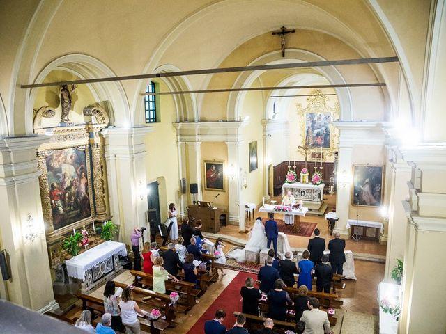Il matrimonio di Michele e Chiara a Verolanuova, Brescia 32