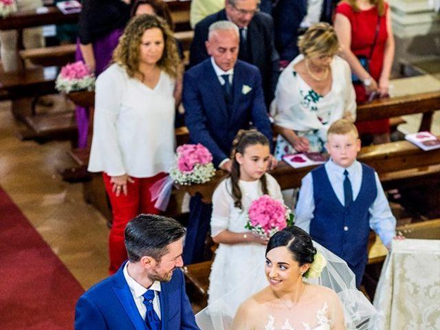 Il matrimonio di Michele e Chiara a Verolanuova, Brescia 33