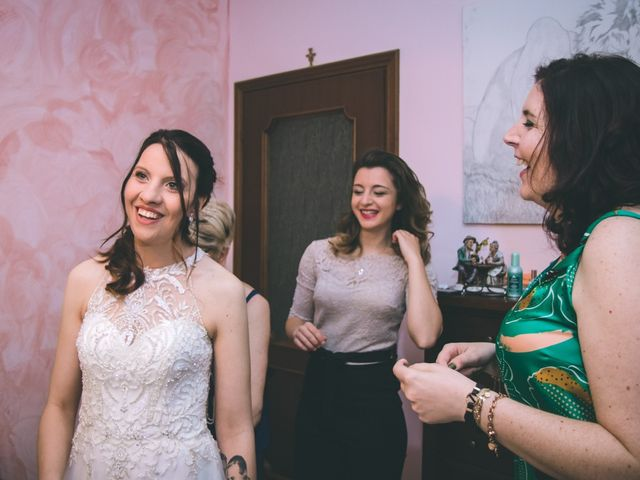 Il matrimonio di Dario e Alessandra a Ozzero, Milano 23