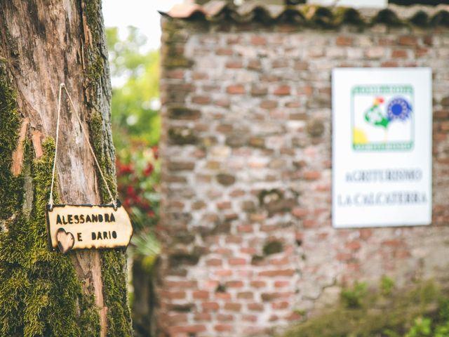 Il matrimonio di Dario e Alessandra a Ozzero, Milano 26