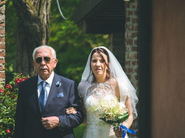Il matrimonio di Dario e Alessandra a Ozzero, Milano 42