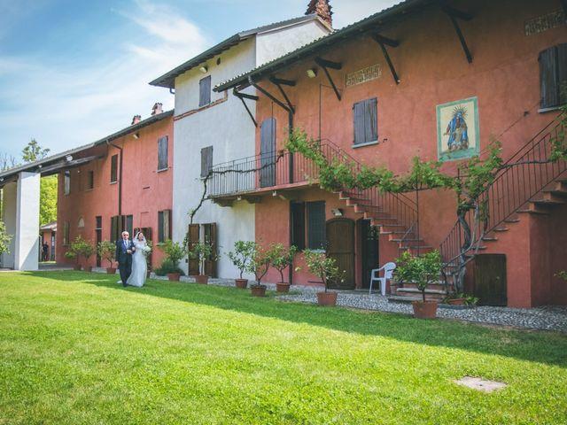 Il matrimonio di Dario e Alessandra a Ozzero, Milano 44