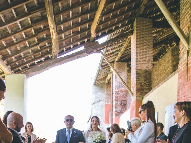 Il matrimonio di Dario e Alessandra a Ozzero, Milano 47