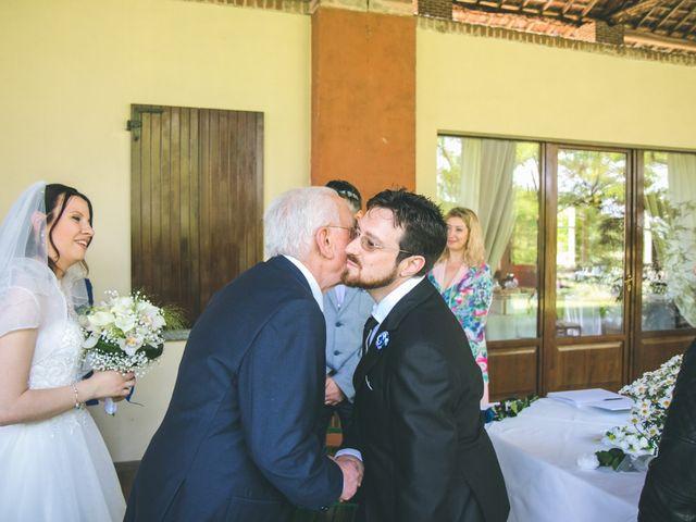 Il matrimonio di Dario e Alessandra a Ozzero, Milano 51
