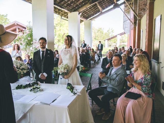 Il matrimonio di Dario e Alessandra a Ozzero, Milano 60