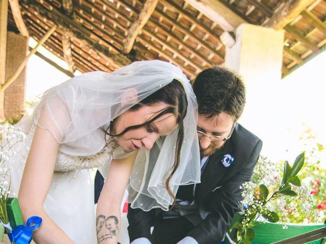 Il matrimonio di Dario e Alessandra a Ozzero, Milano 72