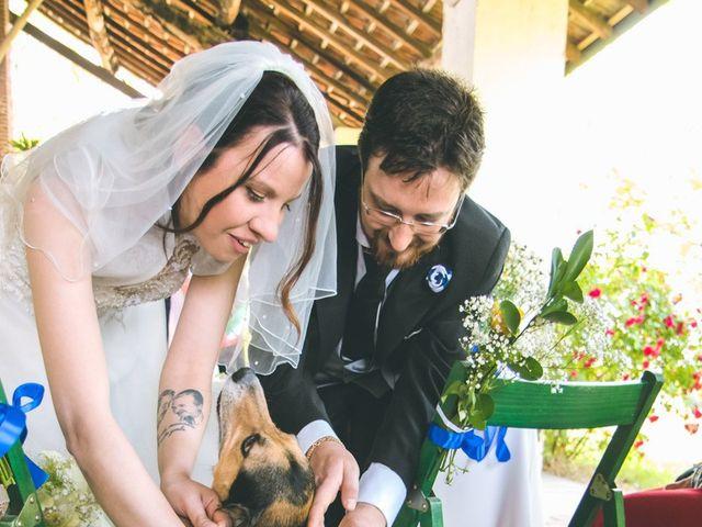 Il matrimonio di Dario e Alessandra a Ozzero, Milano 74