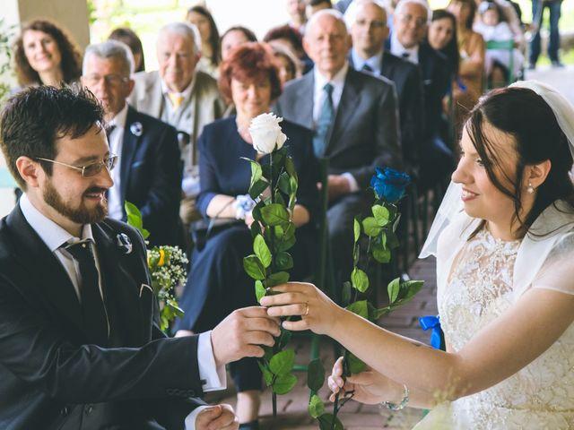 Il matrimonio di Dario e Alessandra a Ozzero, Milano 87