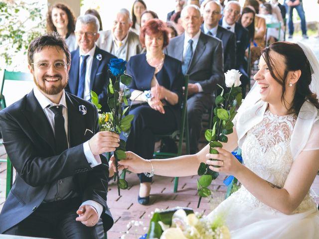 Il matrimonio di Dario e Alessandra a Ozzero, Milano 88