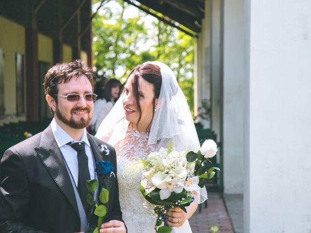 Il matrimonio di Dario e Alessandra a Ozzero, Milano 96