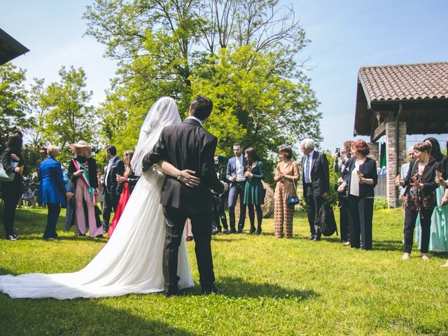 Il matrimonio di Dario e Alessandra a Ozzero, Milano 99