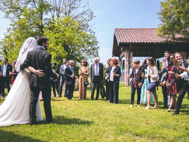 Il matrimonio di Dario e Alessandra a Ozzero, Milano 100