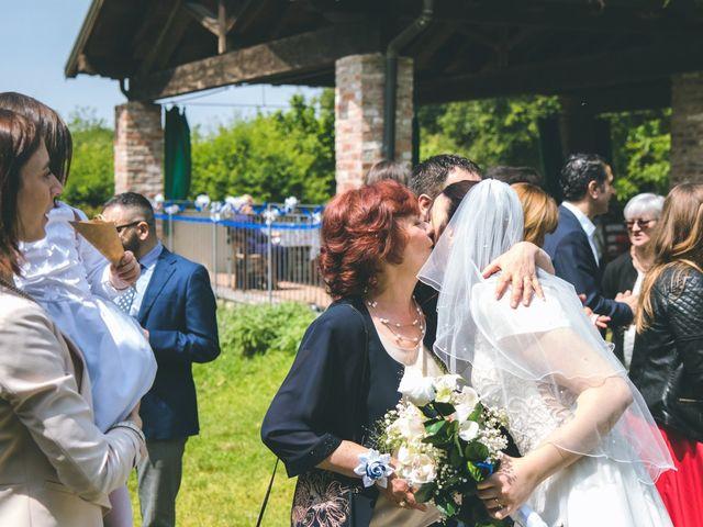 Il matrimonio di Dario e Alessandra a Ozzero, Milano 104