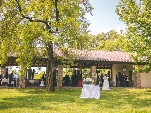 Il matrimonio di Dario e Alessandra a Ozzero, Milano 121