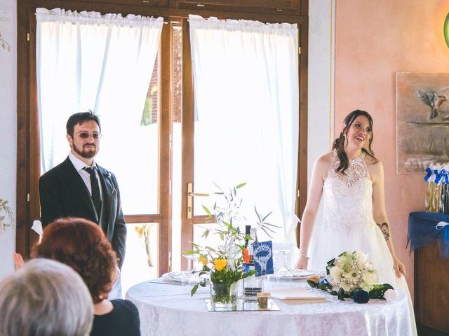 Il matrimonio di Dario e Alessandra a Ozzero, Milano 124